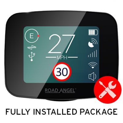 Road Angel Pure Professionally Installed Package