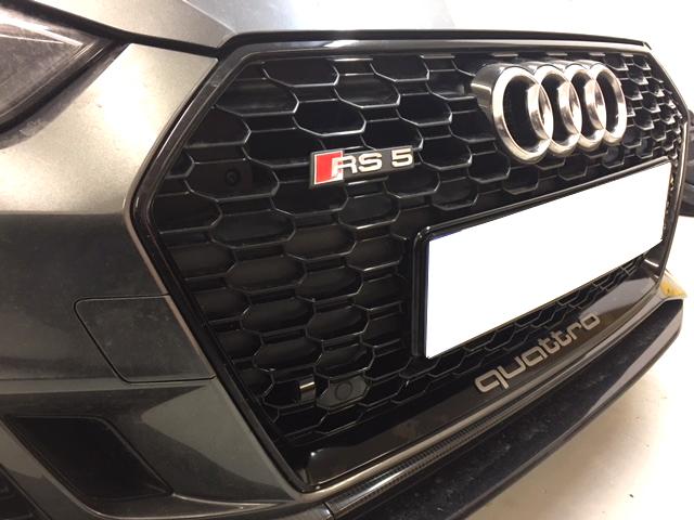 Laser Track Flare Installed Audi RS6