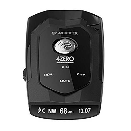 Snooper 4Zero Elite GPS/Radar/Laser Detector