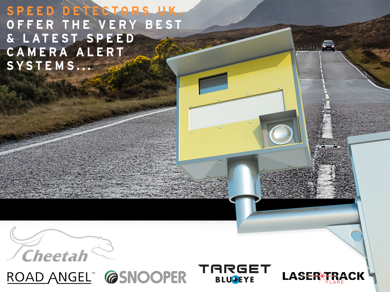 Speed Detectors - Road Angel - Snooper - Cheetah GPS - Target - Target Laser Track Flare - Target Blu Eye