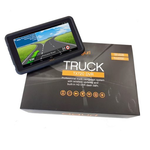 Aguri Truck TX720 DVR with Built-in Dash Cam WiFi and UK & Ireland mapping