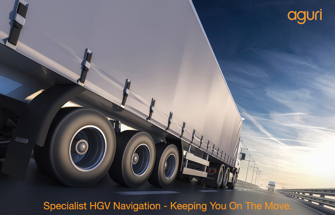 Aguri - Specialist HGV - Truck Navigation Systems