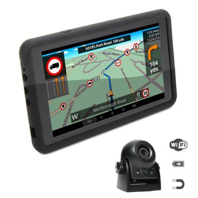 Aguri Truck TX720 PRO Truck Sat Nav + Mag Mount Wireless Reversing Camera Bundle